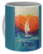 Peace Below The Surface Coffee Mug