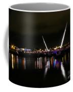 The Peace Bridge At Night Coffee Mug