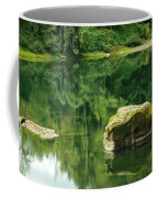Peace By The River Coffee Mug