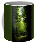 Peace Found Within Coffee Mug by Karen Wiles