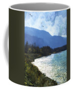 Peace In The Valley - Landscape Art Coffee Mug