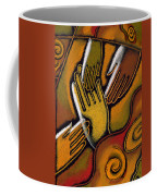 Peace Coffee Mug by Leon Zernitsky