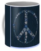 Peace Symbol Design - Bld01t01   Coffee Mug