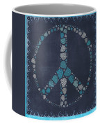 Peace Symbol Design - Btq19at2 Coffee Mug by Variance Collections
