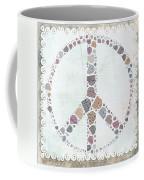 Peace Symbol Design - S76at02 Coffee Mug