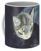 Peace The Cat Coffee Mug