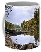 Peaceful Autumn Lake Coffee Mug