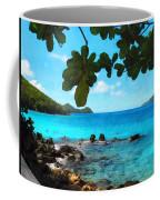 Peaceful Beach St. Thomas Coffee Mug