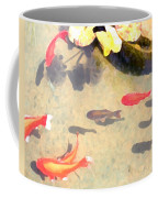 Peaceful Day In The Pond Coffee Mug