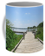 Peaceful Fishing Dock Coffee Mug