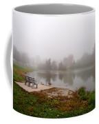 Peaceful Foggy Morning Marr Park Coffee Mug