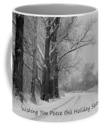 Peaceful Holiday Card Coffee Mug