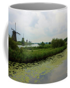 Peaceful Kinderdijk Coffee Mug by Carol Groenen