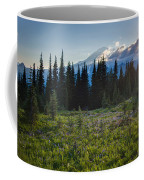 Peaceful Mountain Flowers Coffee Mug