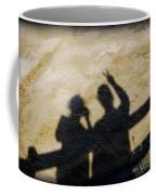 Peaceful People Shadows Coffee Mug