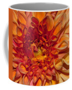 Peach Dahlia Coffee Mug