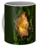 Peach Daylily Delight Coffee Mug