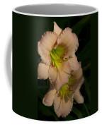 Peach Parfait Daylilies Coffee Mug