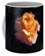 Peach Rose Palm Desert Coffee Mug