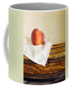 Peach Still Life Coffee Mug