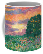 Peachy Sunset Coffee Mug