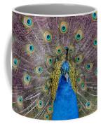 Peacock And Proud Plumage Coffee Mug