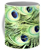 Peacock Colour Coffee Mug