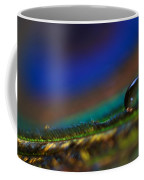 Peacock Drop Coffee Mug