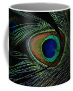 Peacock Eye Coffee Mug