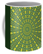 Peacock Feathers Kaleidoscope 2 Coffee Mug