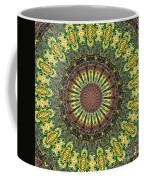 Peacock Feathers Kaleidoscope 7 Coffee Mug
