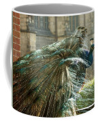 Peacock Flurry  Coffee Mug