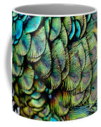 Peacock Pattern Coffee Mug