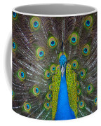 Peacock Portrait Coffee Mug