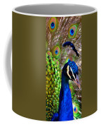 Peacock Pride Revisited Coffee Mug