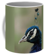 Peacock Profile  Coffee Mug