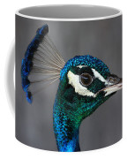 Peacock Profile Coffee Mug