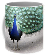 Peacock Strut Coffee Mug