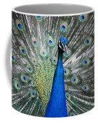 Peacock Up Close Coffee Mug