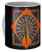 Peacock Yoga  Coffee Mug