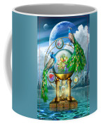 Peacocks Lagoon Coffee Mug