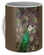 Peahen And Peacock Coffee Mug