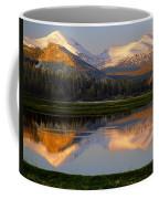 6m6530-a-peaks Reflected Touolumne Meadows  Coffee Mug