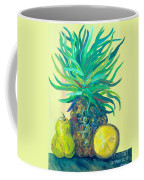 Pear And Pineapple Coffee Mug