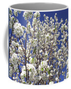 Pear Tree Blossoms In Spring Coffee Mug