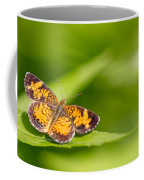 Pearl Crescent Notecard Coffee Mug