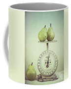 Pears And Kitchen Scale Still Life Coffee Mug