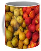 Pears And Peaches. Fresh Market Series Coffee Mug