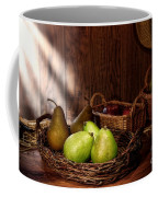 Pears At The Old Farm Market Coffee Mug by Olivier Le Queinec