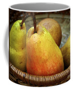 Pears In A Basket Coffee Mug